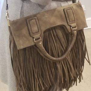 Sole Society Versalite fringe shoulder/handbag